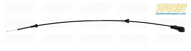 T#9368 - 51238208442 - Hood Release Cable - E46  - Genuine BMW - BMW