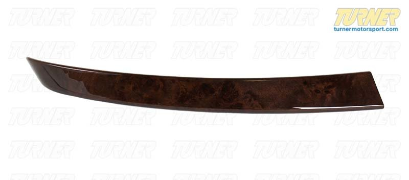 T#96089 - 51416959333 - Genuine BMW Wood Panel Poplar Woodgrain,Front Left Braun - 51416959333 - Genuine BMW -