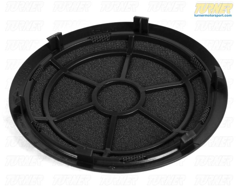 T#9659 - 51417144553 - Genuine BMW Cover Loudspeaker Schwarz - 51417144553 - E90 - Genuine BMW -