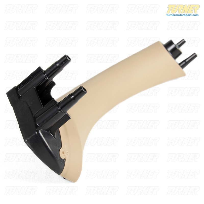 T#97177 - 51417230853 - Rear Door Panel Pull Handle - Beige - Left - E90 3 series - Genuine BMW - BMW