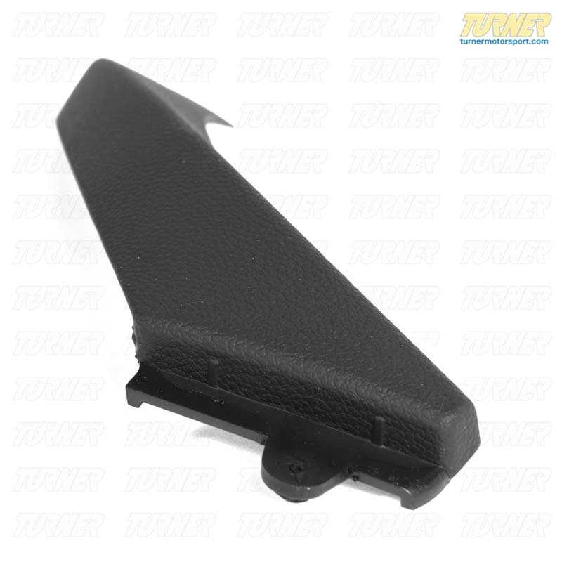 T#99006 - 51419150336 - Door Panel Pull Exterior Cover -  Black - E90 3 series - Genuine BMW - BMW