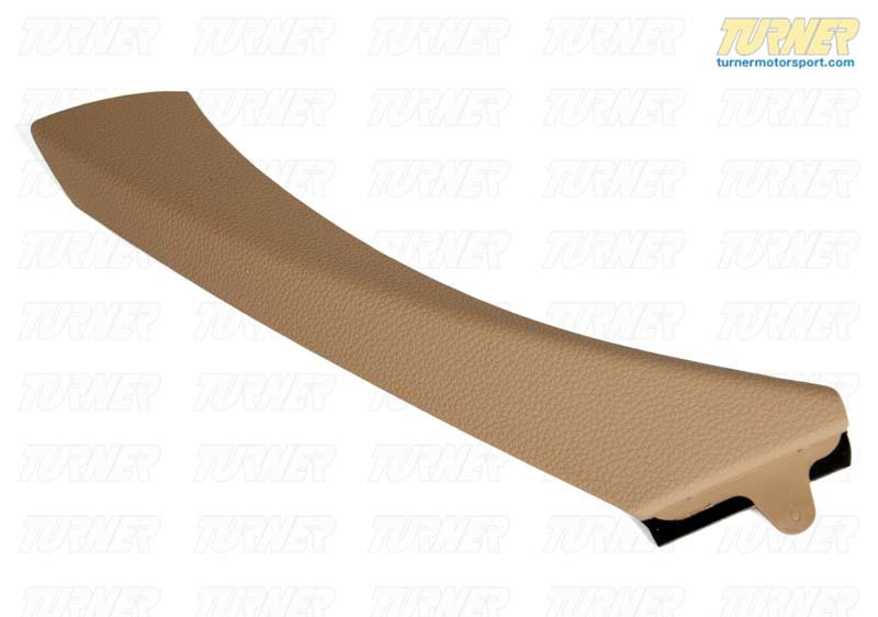 T#99010 - 51419150340 - Door Panel Pull Exterior Cover - Beige - Right - E90 3 series - Genuine BMW - BMW