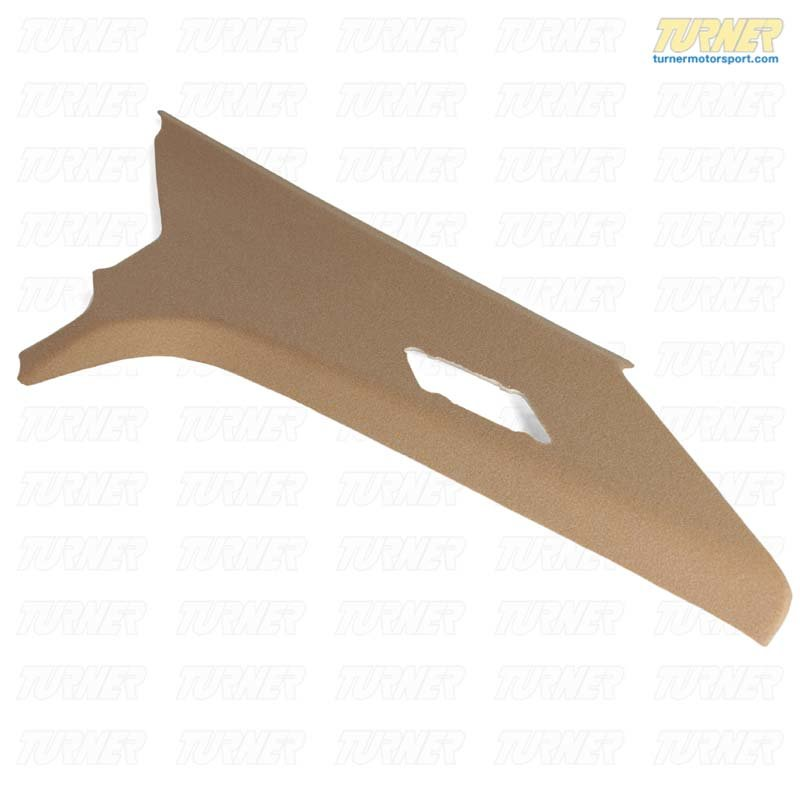 T#24026 - 51438173507 - Genuine BMW Trim Panel Column, Rear Left Beige - 51438173507 - E36 - Genuine BMW -