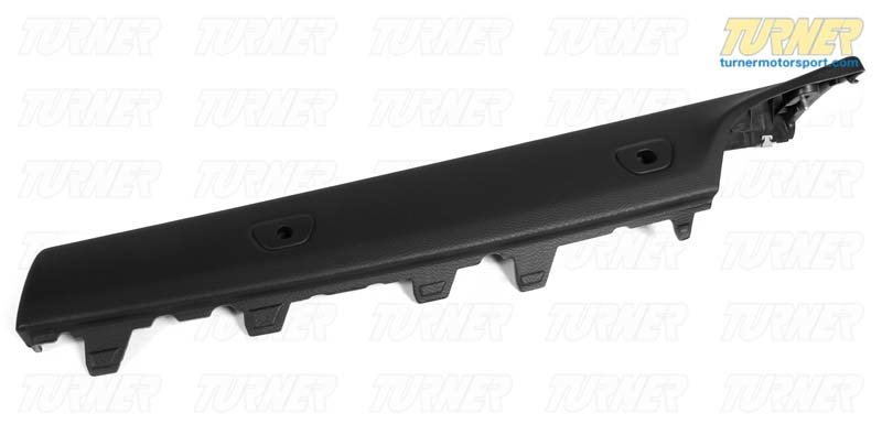 T#105399 - 51439150926 - Genuine BMW Trim Panel, Railing Right Schwarz - 51439150926 - E93 - Genuine BMW -