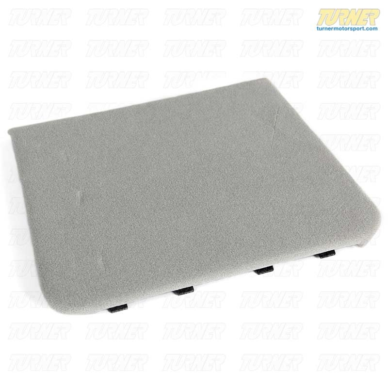 T#9810 - 51448173547 - Sunroof Motor Cover - Gray - E36  Coupe - Genuine BMW - BMW