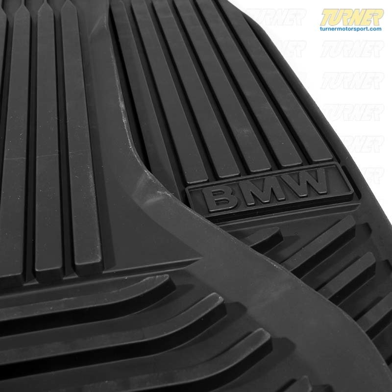 T#110404 - 51472153725 - Genuine BMW All-weather Mat, Front - Black - F10 5 series -  51472153725 - Genuine BMW -