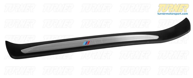 T#112411 - 51477898817 - Genuine BMW M Trim Piece, Front Left Entry M5 - 51477898817,E60 M5 - Genuine BMW -