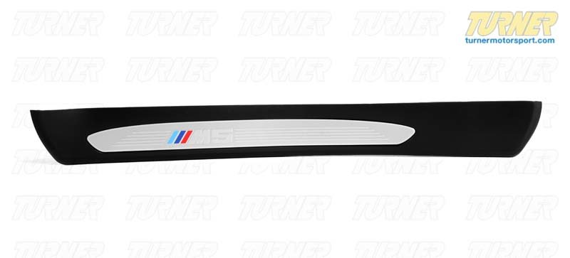 T#112413 - 51477898819 - Genuine BMW M Trim Piece, Rear Left Entry M5 - 51477898819,E60 M5 - Genuine BMW -