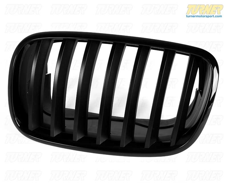 T#5104 - 51712150247 - BMW Performance Black Grilll Left .e70 E71 - Genuine BMW -
