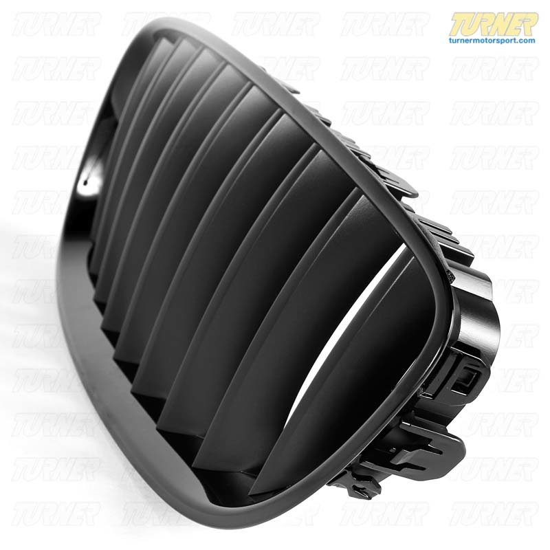 T#24203 - 51712150253 - Genuine BMW Front Trim Grill, Black, Left - 51712150253 - Genuine BMW -