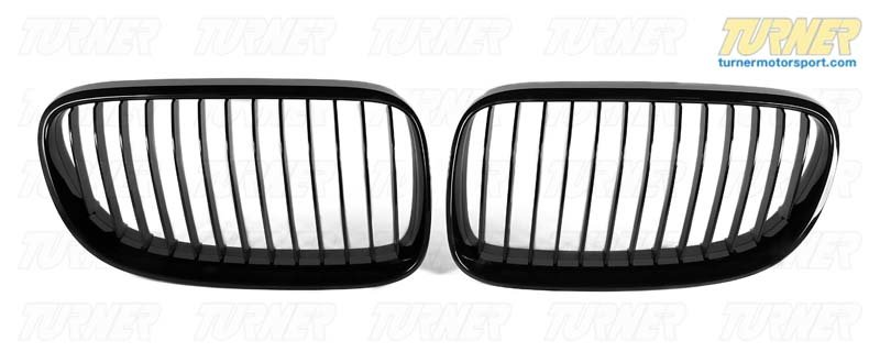 T#5095 - 51712158985 - BMW Performance Black Grill - Left E92 03/2010+ - Genuine BMW -