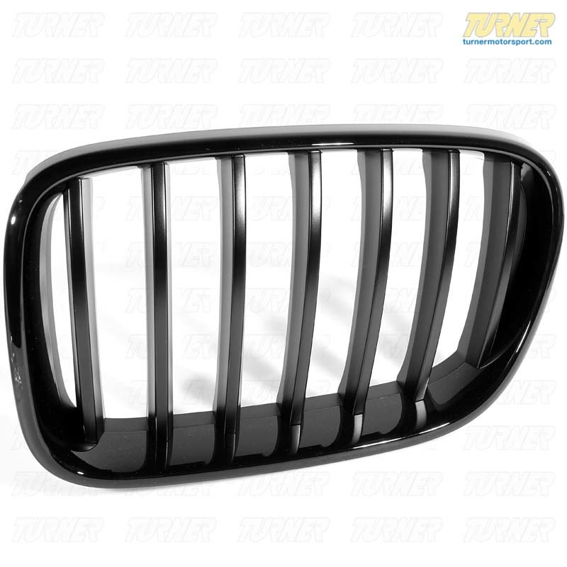 T#21974 - 51712297589 - Genuine BMW Front Trim Grill, Black, Left - 51712297589 - Genuine BMW -