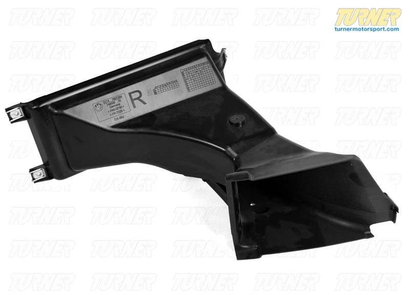 T#119093 - 51747891384 - Genuine BMW Front Right Brake Air Duct -M- - 51747891384 - Genuine BMW -
