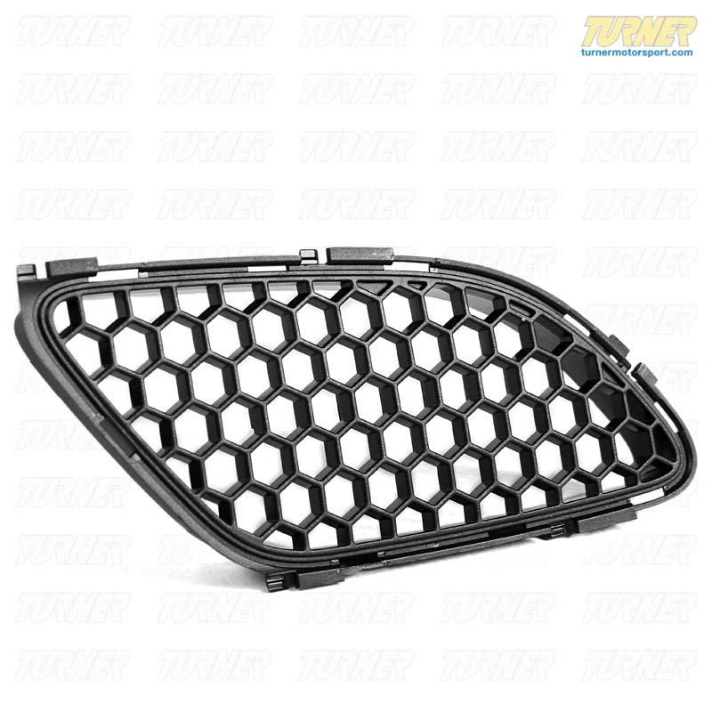 T#21205 - 51768041985 - Genuine BMW Trim Grill For Front Flap, L 51768041985 - Genuine BMW -