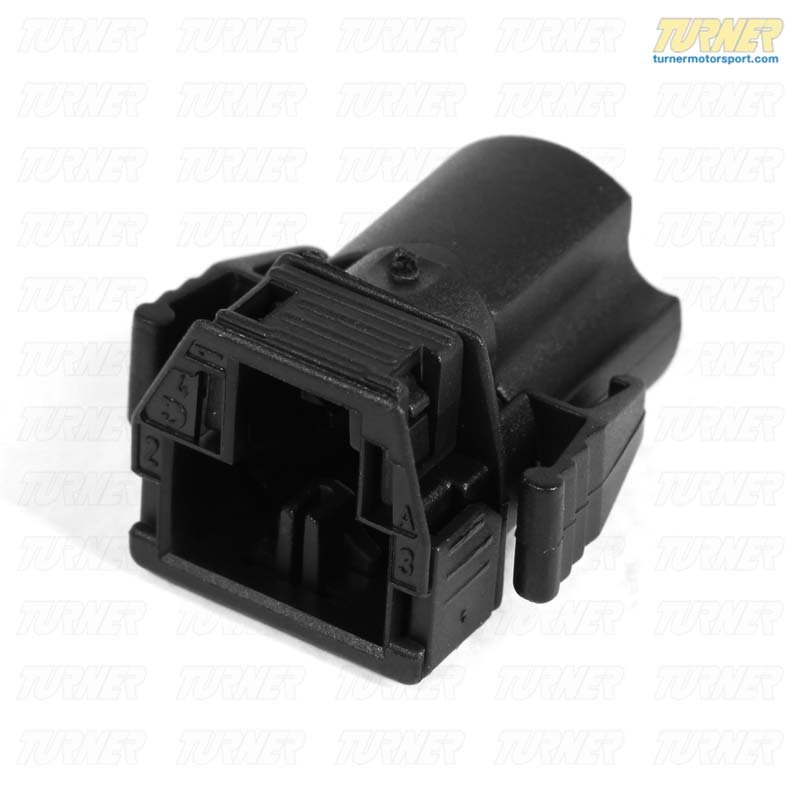 T#10466 - 61131378410 - Genuine BMW Plug Housing 3 Pol. - 61131378410 - E30,E34,E36 - Genuine BMW -