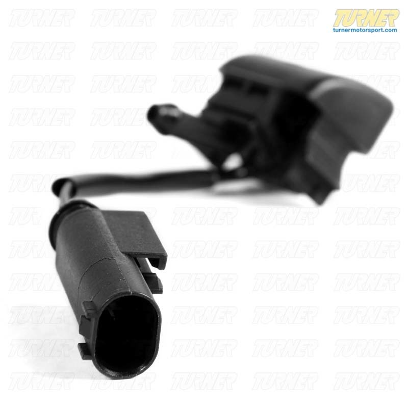T#10751 - 61668374365 - Windshield Washer Heated Spray Nozzle - Left - E46 thru 1/2002 - Genuine BMW - BMW