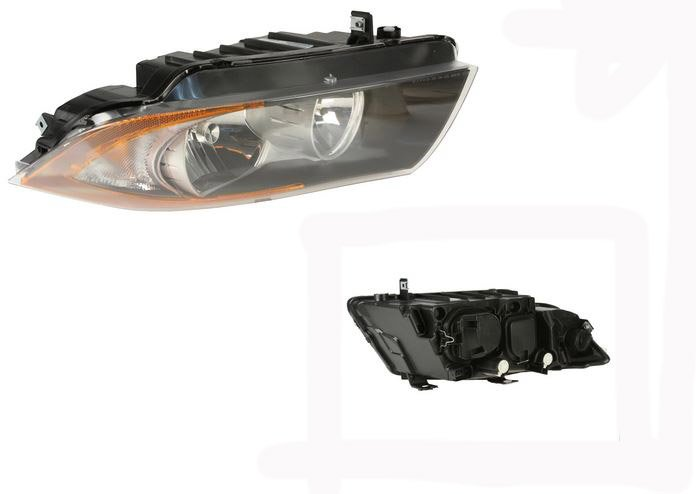 T#25438 - 63116942725 - OEM BMW Headlight Left - 63116942725 - Valeo -