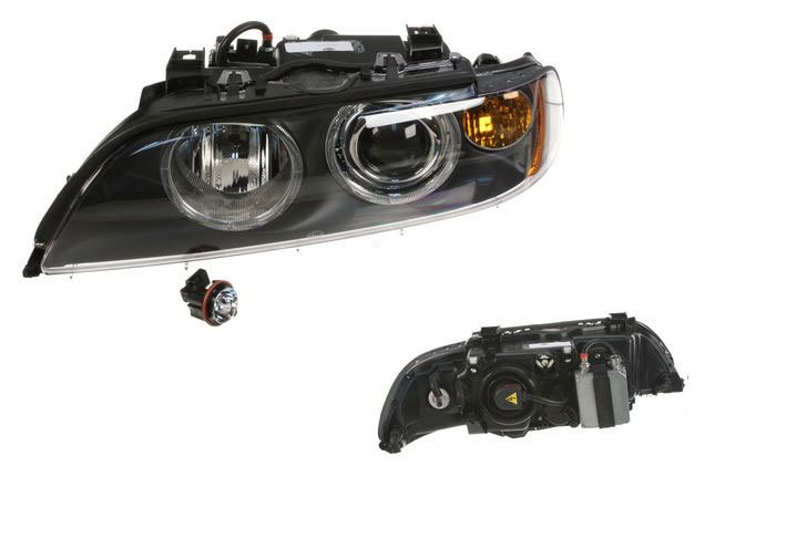 T#18771 - 63126912433 - OEM Hella Headlight - Xenon - Left - E39 525i, 530i 540i M5 2001-2003 - Hella - BMW