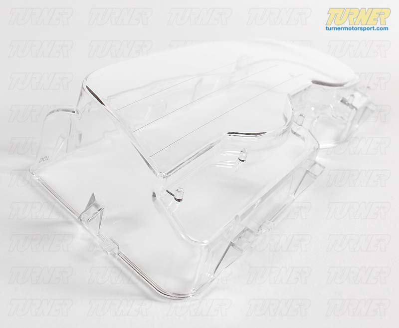 T#21356 - 63126929565 - Headlight Lens For Xenon Lights - Left - E46 2 Door - Genuine BMW - BMW
