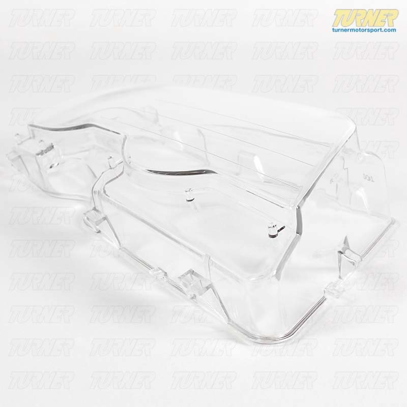 T#24467 - 63126929566 - Headlight Lens For Xenon Lights - Right - E46 2 Door - Genuine BMW - BMW
