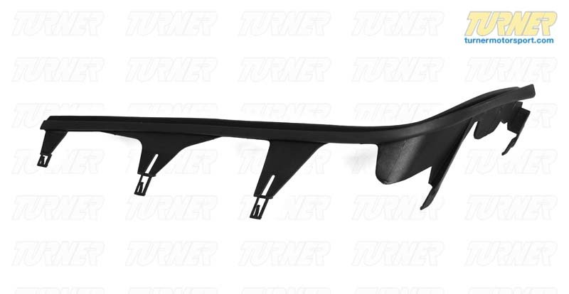 T#10843 - 63128384487 - Headlight Upper Trim Strip - Left - E46 Sedan 1999-2001 - Genuine BMW - BMW