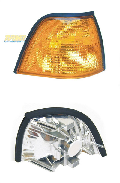 T#10883 - 63138353280 - Right Front Turn Signal - Amber - E36 318i, 325i, 328i M3 - Sedan - Genuine BMW - BMW