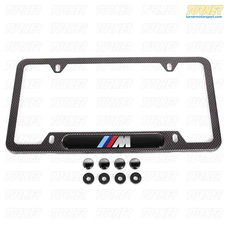 T#14231 - 82120418625 - Genuine BMW Accessories License Plate Frame 82120418625 - Genuine BMW -