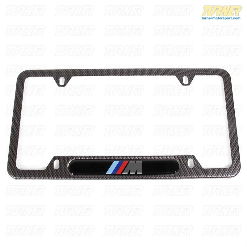 82120418625 Genuine Bmw Accessories License Plate Frame 82120418625 Turner Motorsport