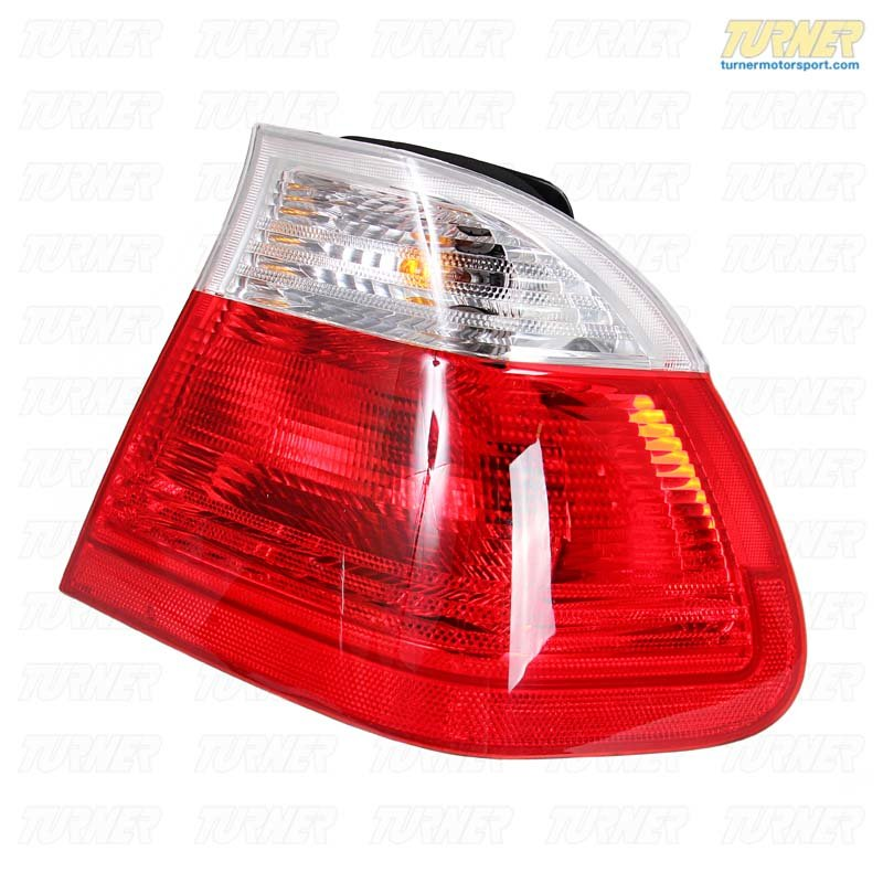 T#340013 - TMS1139 - Rear Taillights (Pair) - Euro Clear - E46 Sedan 1999-2001 - Turner Motorsport - BMW