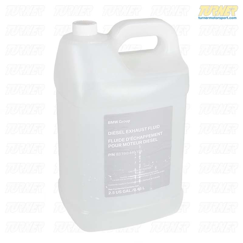 T#14250 - 83190440158 - Genuine BMW Diesel Exhaust Fluid Adblue - 2.5 gallon - 83190440158 - Genuine BMW - BMW