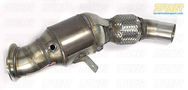 T#184381 - 987121 - E89 Z4 28i Supersprint Turbo Downpipe with Cat - Supersprint - BMW