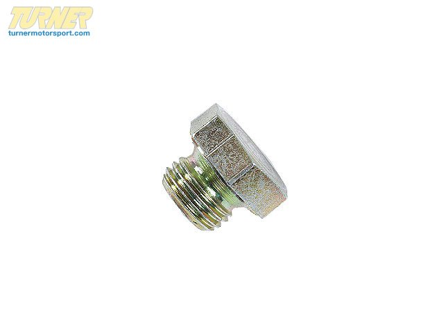T#6455 - 07119919228 - Genuine BMW Screw Plug - 07119919228 - E30,E34,E36,E39 - Genuine BMW -
