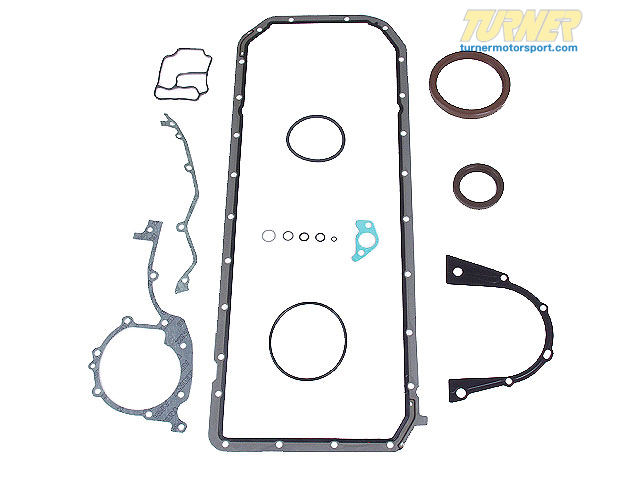 T#19564 - 11119064460 - Bottom-End Gasket Set - E36 325i/M3, E34 525i  - Victor Reinz - BMW