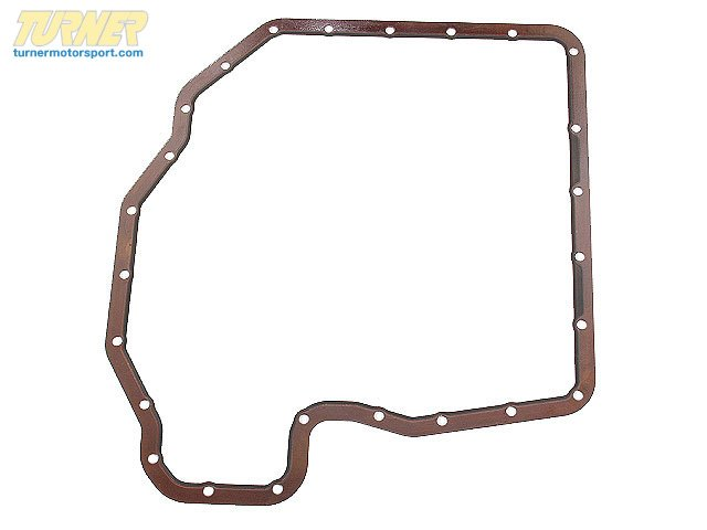 T#2803 - 11131436324 - Lower Oil Pan Gasket - M60 M62 V8 - E34 E39 E32 E38 E31 - Elring - BMW