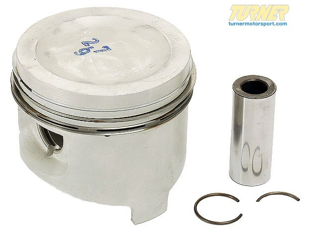 T#19068 - 11251287099 - Genuine BMW Ks Piston 84,480mm(+0,50) - 11251287099 - E30 - Genuine BMW -