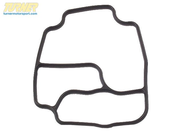 T#12443 - 11421719855 - Oil Filter Housing Gasket - E34, E36, E39, E46, E53, E60, Z3, Z4 - Elring - BMW