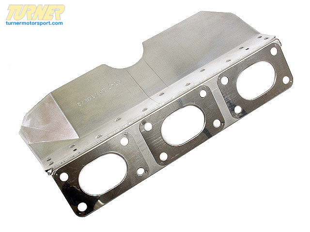 T#14628 - 11621732969 - Engine Gasket W Protective Heat Shield - 11621732969 - Victor Reinz -