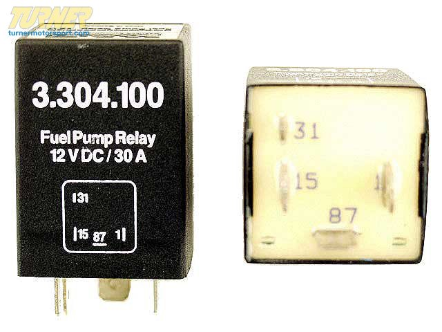 T#7173 - 12631277245 - OEM BMW Engine Electrical Petrol Pump Relay 12631277245 - K.A.E. -