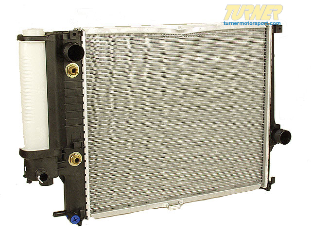 T#19501 - 17111719309 - OEM Behr Radiator - E34 525i - Automatic - Mahle-Behr - BMW