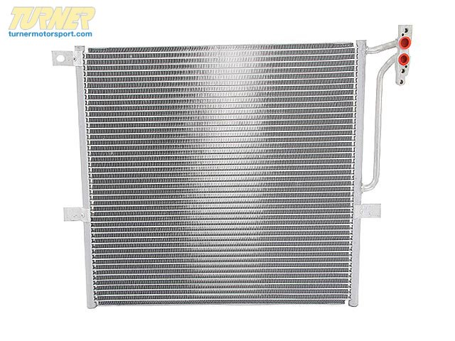 T#15078 - 17113400400 - OEM BMW Radiator Condenser Air Conditioning 17113400400 - Hella -