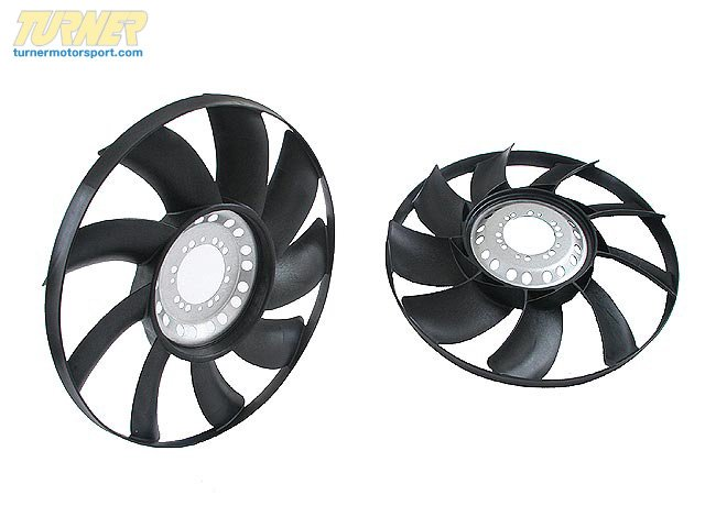 T#7474 - 17417504732 - OEM BMW Radiator Fan 17417504732 - Hella -
