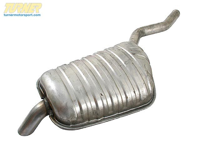 T#15168 - 18101745672 - OEM BMW Exhaust Rear Muffler Right 18101745672 - Genuine BMW -