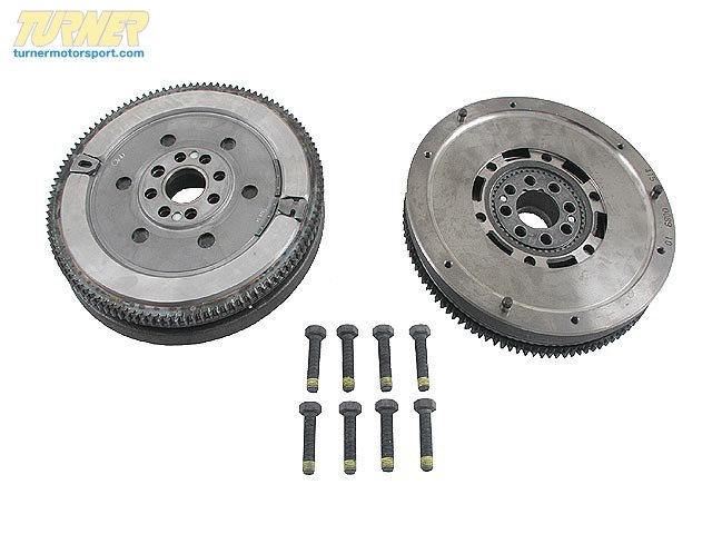 T#7532 - 21211223596 - OEM BMW Clutch Twin Mass Flywheel 21211223596 - LUK -