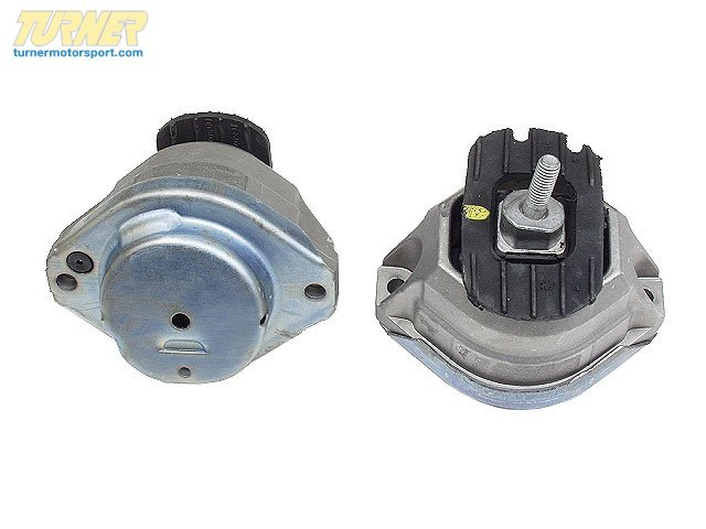 T#13232 - 22116762607 - OEM BMW Engine & Trans Suspension Rubber Mounting Left 22116762607 - Vaico -