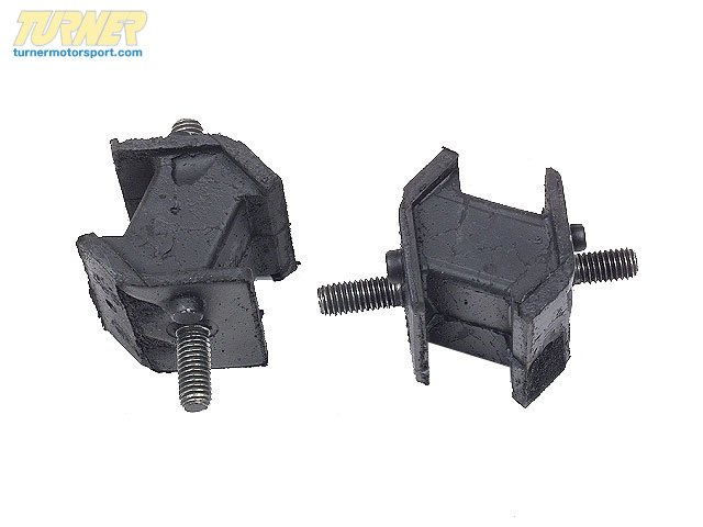 T#7609 - 24701138427 - OEM BMW Automatic Transmission Rubber Mounting Left 24701138427 - Meyle -