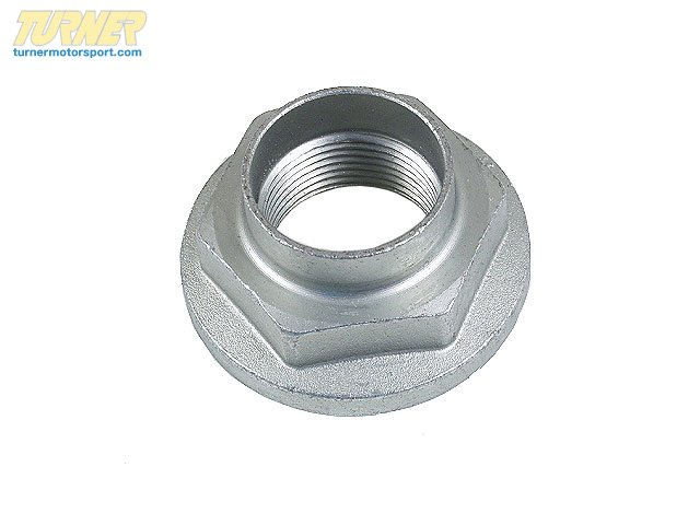 T#13337 - 31211125826 - Front Axle COLLAR NUT 31211125826 - Genuine BMW -