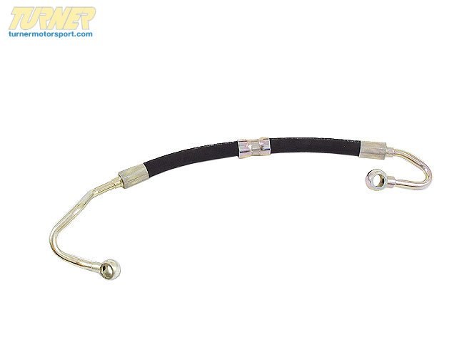 T#7875 - 32411093461 - Power Steering Pump to Steering Rack Pressure Hose - E36 323i 328i - Febi - BMW