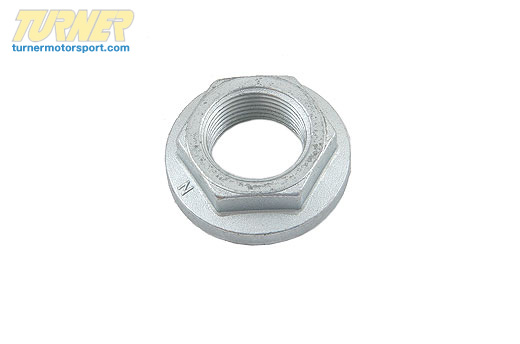 T#5046 - 33411125664 - Rear Wheel Bearing Nut - E30 Z3 E36 318ti - Febi - BMW