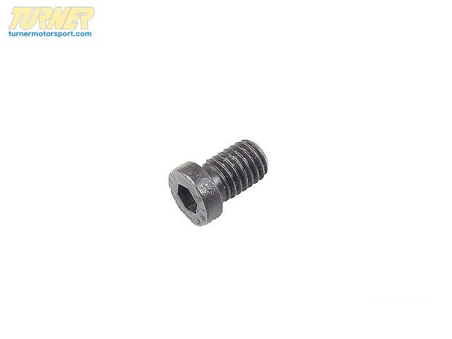 T#12529 - 34111123072-2 - Brake Rotor Retaining Screw / Hold Down Bolts (pair) - M8x12 - Genuine BMW - BMW
