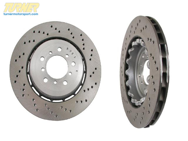T#12530 - 34112282445 - Genuine BMW Brake Disc, Ventilated, Left 34112282445 - Genuine BMW -